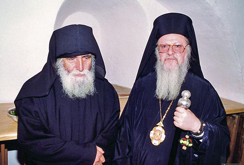 Agios-Paisios-patriarchis-Vartholomaios-1992-IN