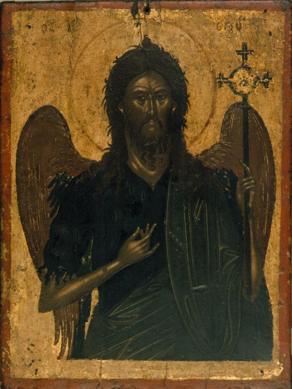 Icoana Sfantului Prooroc Ioan Botezatorul